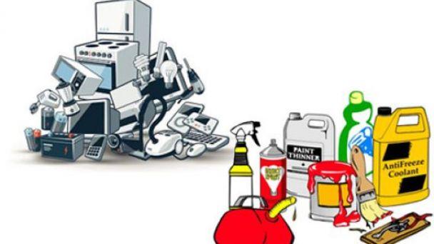 Zber nebezpečného odpadu z pred domov