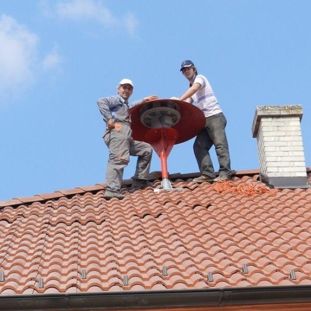 Hasičská zbrojnica - strecha