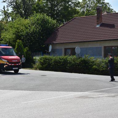 DHZ - preberanie hasičského auta 17.07.2019