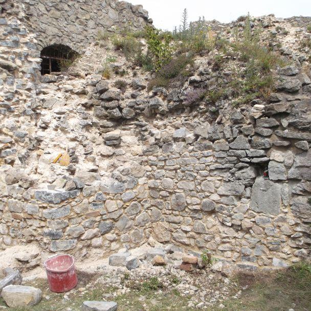 Obnova hradu Branč 2020