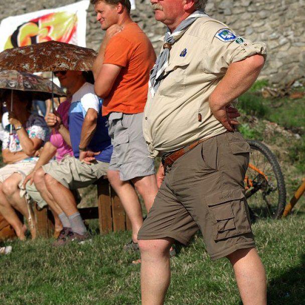 Piknik na hrade Branč - 19.7.2008 - 2