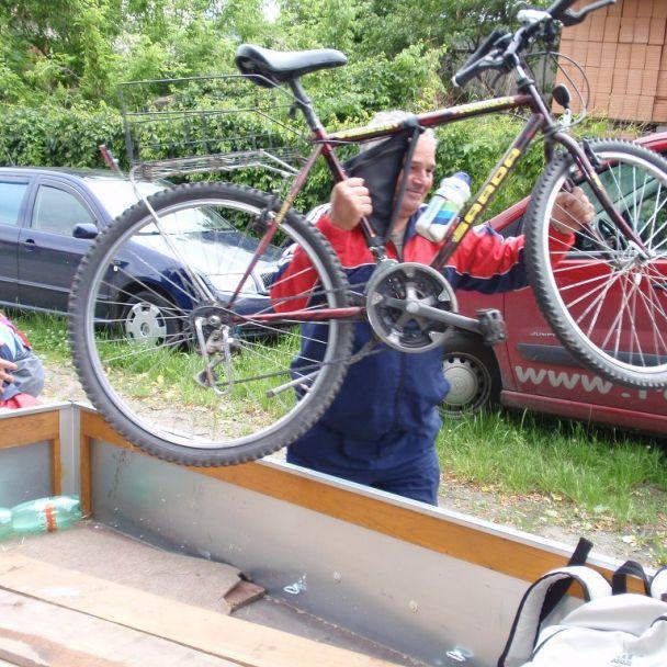 Cyklistická návšteva Moravského krasu