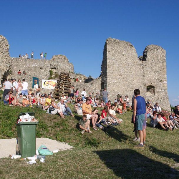 Piknik na hrade Branč - 19.7.2008